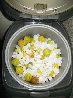 炊飯器で梅シロップ.jpg